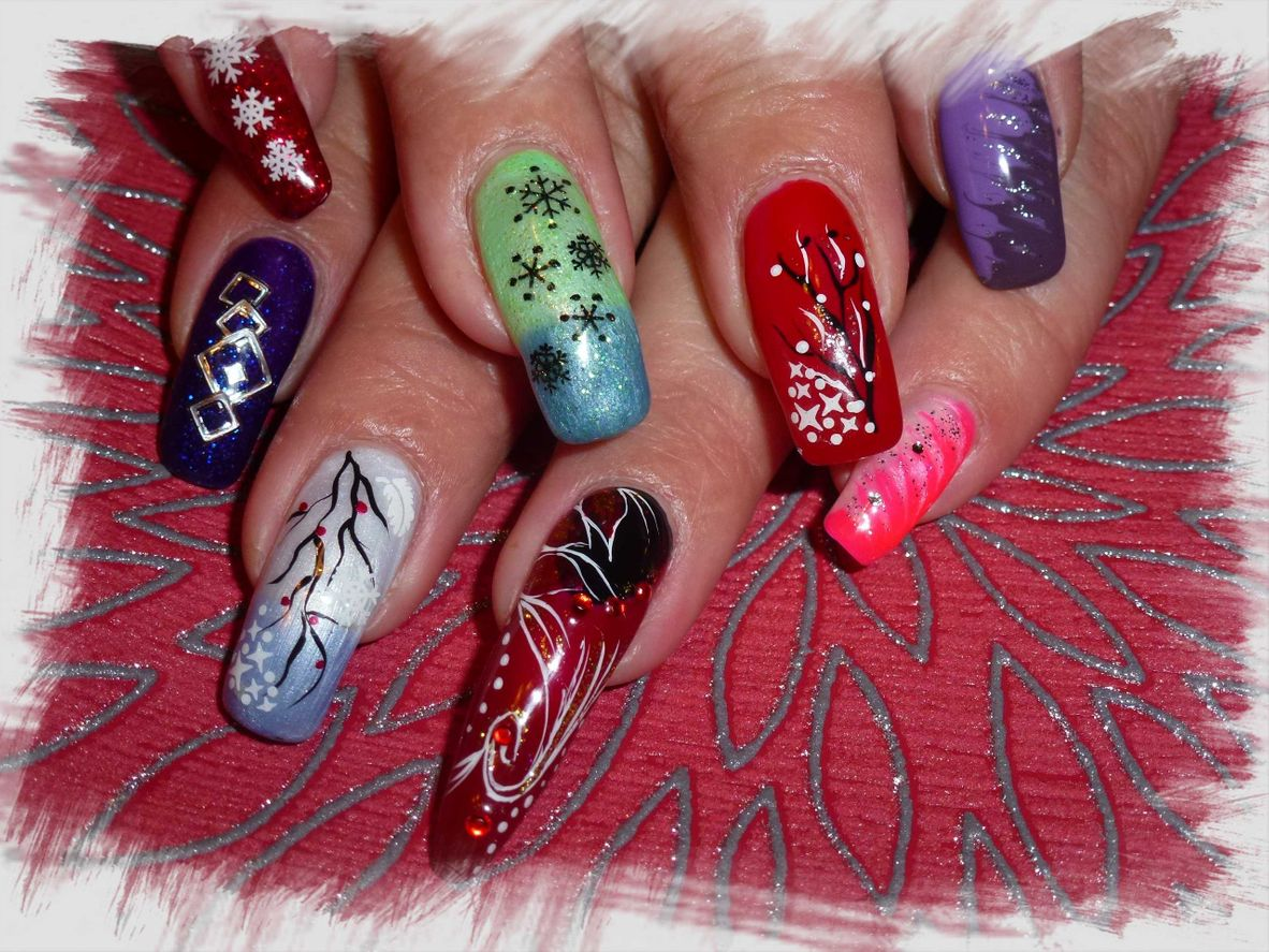 Nailart mit Stiletto